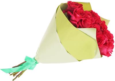 Бумага крафт упаковочная двусторонняя Мятный-Зеленый