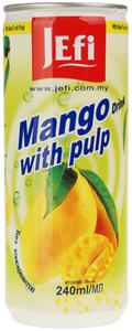 Напиток из манго с кусочками фруктов 240мл