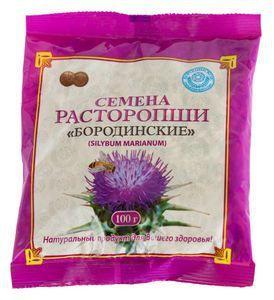 Семена расторопши Цветной, 100г