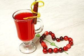 Клюквенно-брусничный напиток