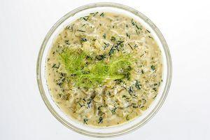 Ароматный соус из фенхеля отлично подойдет к белой рыбе.
