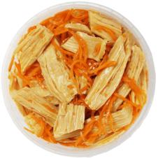 Спаржа с морковью по-корейски 350г