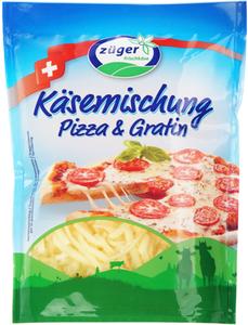 Моцарелла для пиццы тертая 42% жир., 150г