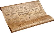 Бумага крафт упаковочная Газета