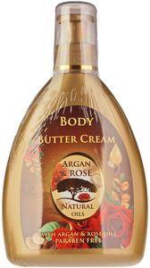 Крем-масло для тела Аргана и Роза 300мл