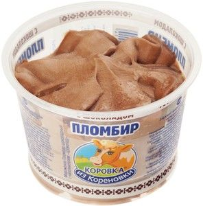 Мороженое пломбир с шоколадом 150г