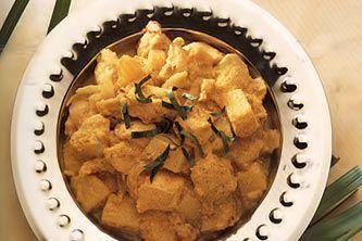 Желтое кари из курицы (Каенг карри кай)