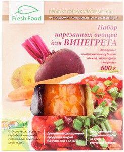 Набор отварных овощей для винегрета 600г
