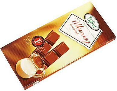 Шоколад молочный на фруктозе 100г