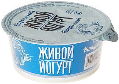 Йогурт натуральный 2,5% жир., 150г