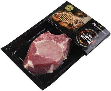 Свинина мраморная стейк из корейки 300г