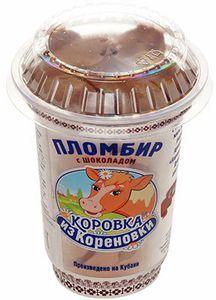 Мороженое пломбир с шоколадом 220г