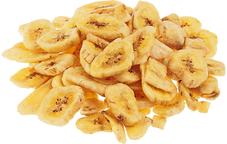 Чипсы банановые целые 130г