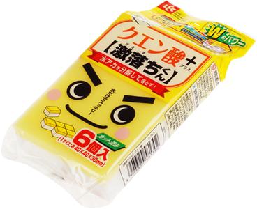Губка меламиновая с лимонной кислотой 6шт