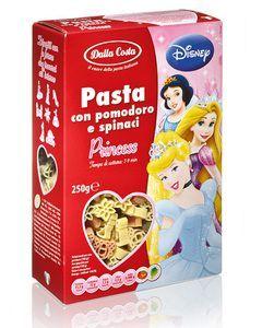 Детская паста Принцесса Disney со шпинатом и томатами, 250г