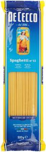 Паста Спагетти De Cecco №12 500г