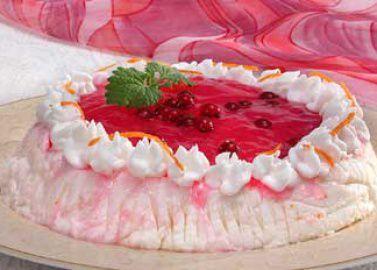 Ягодно-йогуртовый десерт