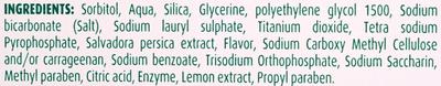 Зубная паста Соль и лимон + зубная щетка