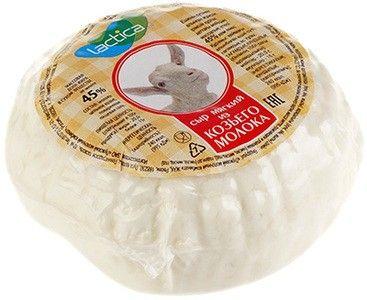 Сыр из цельного козьего молока 45% жир., ~130г
