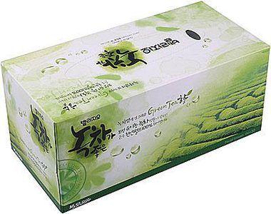 Салфетки для лица с экстрактом зеленого чая