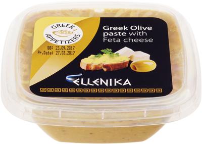 Паста из оливок с сыром фета 130г