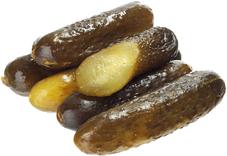 Огурцы соленые бочковые ГОСТ 380г