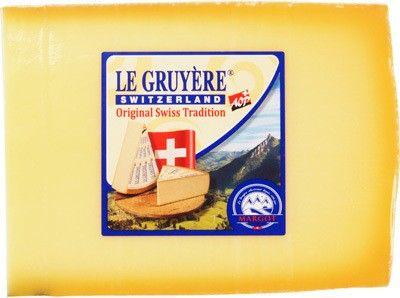 Сыр Грюйер 49% жир., 200г