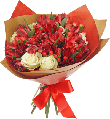 Букет №8 Розы Гратено Тембо