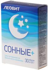 Средство для сна Сонные+ 30 таблеток