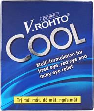 Капли для глаз V. Rohto охлаждающие 12мл