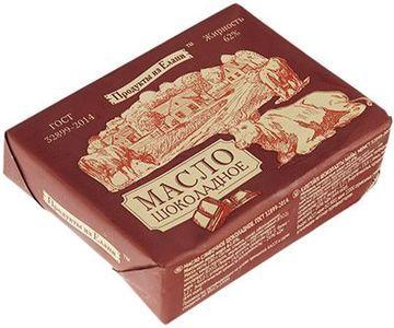 Масло сливочное шоколадное 62% жир., 180г