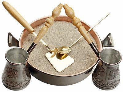 Турецкий набор для приготовления кофе Тет-а-Тет