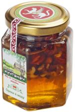 Мед с орехами ассорти 220г