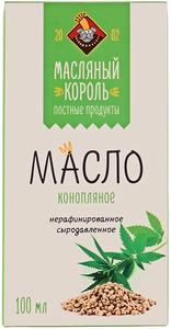 Масло конопляное 100мл