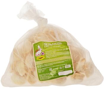 Пельмени с мясом кролика 500г