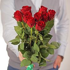 Роза красная Мадам Ред ~40см 1шт