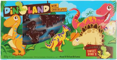 Шоколад молочный фигурный Динозаврики 90г