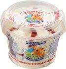 Мороженое пломбир с брусничным джемом 150г
