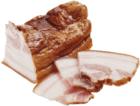 Грудинка свиная варено-копченая ~300г