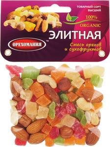 Смесь орехов и сухофруктов Элитная 180г