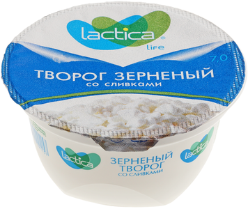 Зерненый творог со сливками 7% жир., 150г