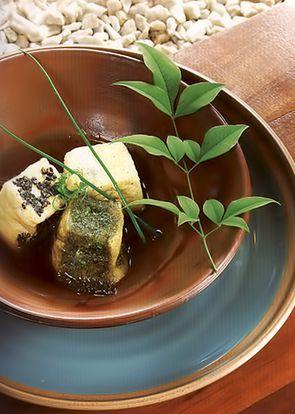 Жареный  агэдаши тофу