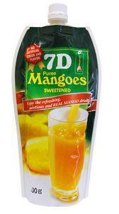 Пюре из манго 7D Mangoes 500г