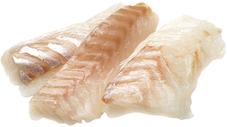 Филе трески без кожи порционное ~1кг