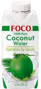 Кокосовая вода натуральная  330мл