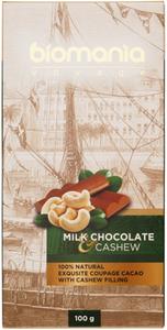 Молочный шоколад с пастой из кешью 100г