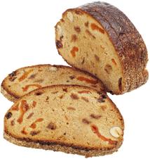 Хлеб заварной с орехами и сухофруктами Курземский 240г