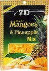 Манго и ананас сушеные 80г