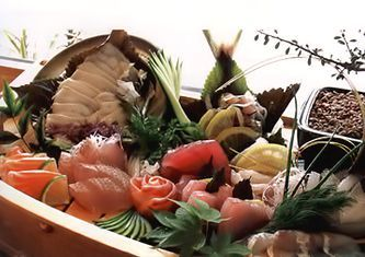Сасими - ассорти (Сасими морякасе)