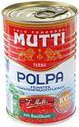 Томаты  с базиликом Mutti 400г